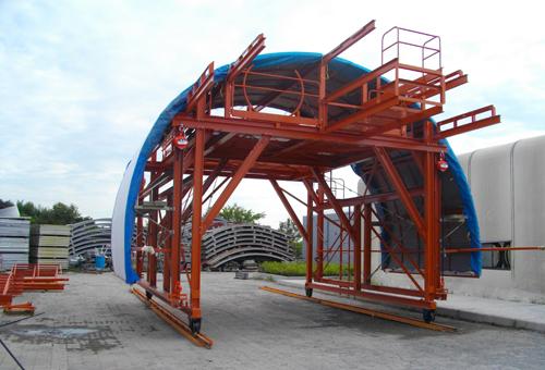 トンネル工事用防音扉 モデル50-2